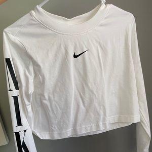 Women's Nike white long sleeve